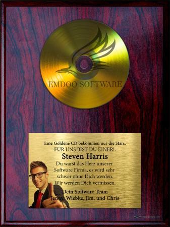 CD Auszeichnung Gold (Premium)